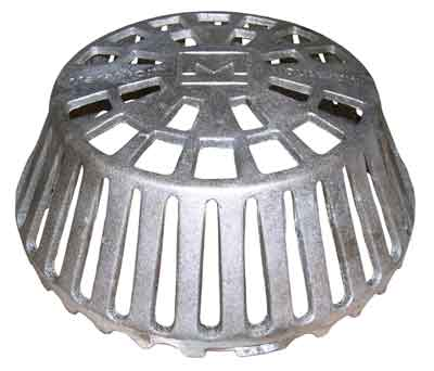 Cast Iron Dome F 22010 Drain Roofmaster