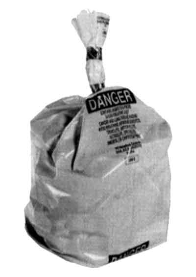 disposal bag