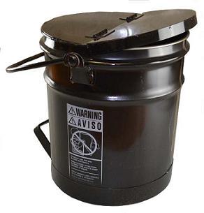 asphalt bucket