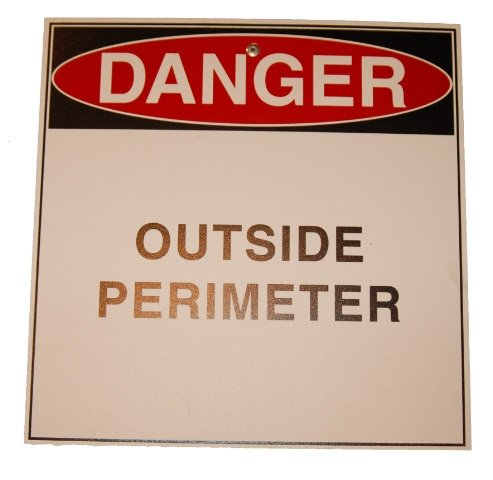 outside perimeter sign