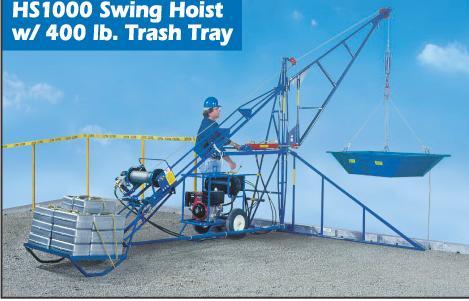 HS1000 Hydraulic Swing Beam Hoist