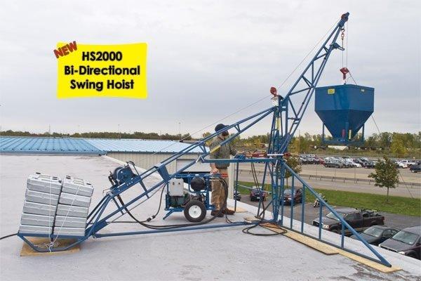 HS2000 Honda 13hp Swing Boom Hoist