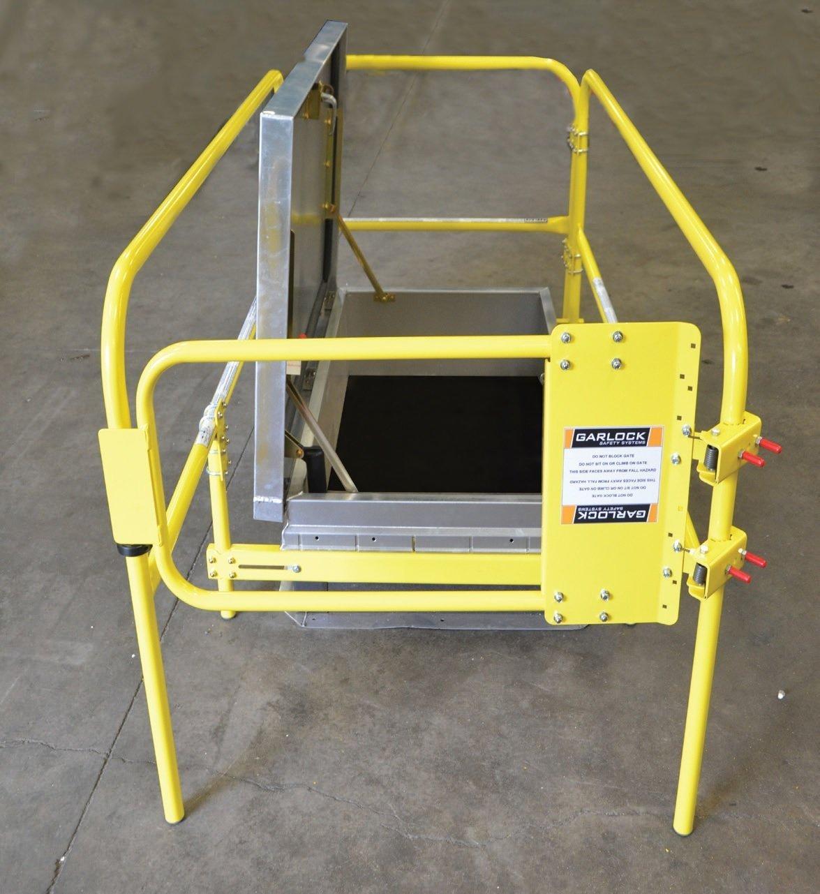 ladder hatch guard