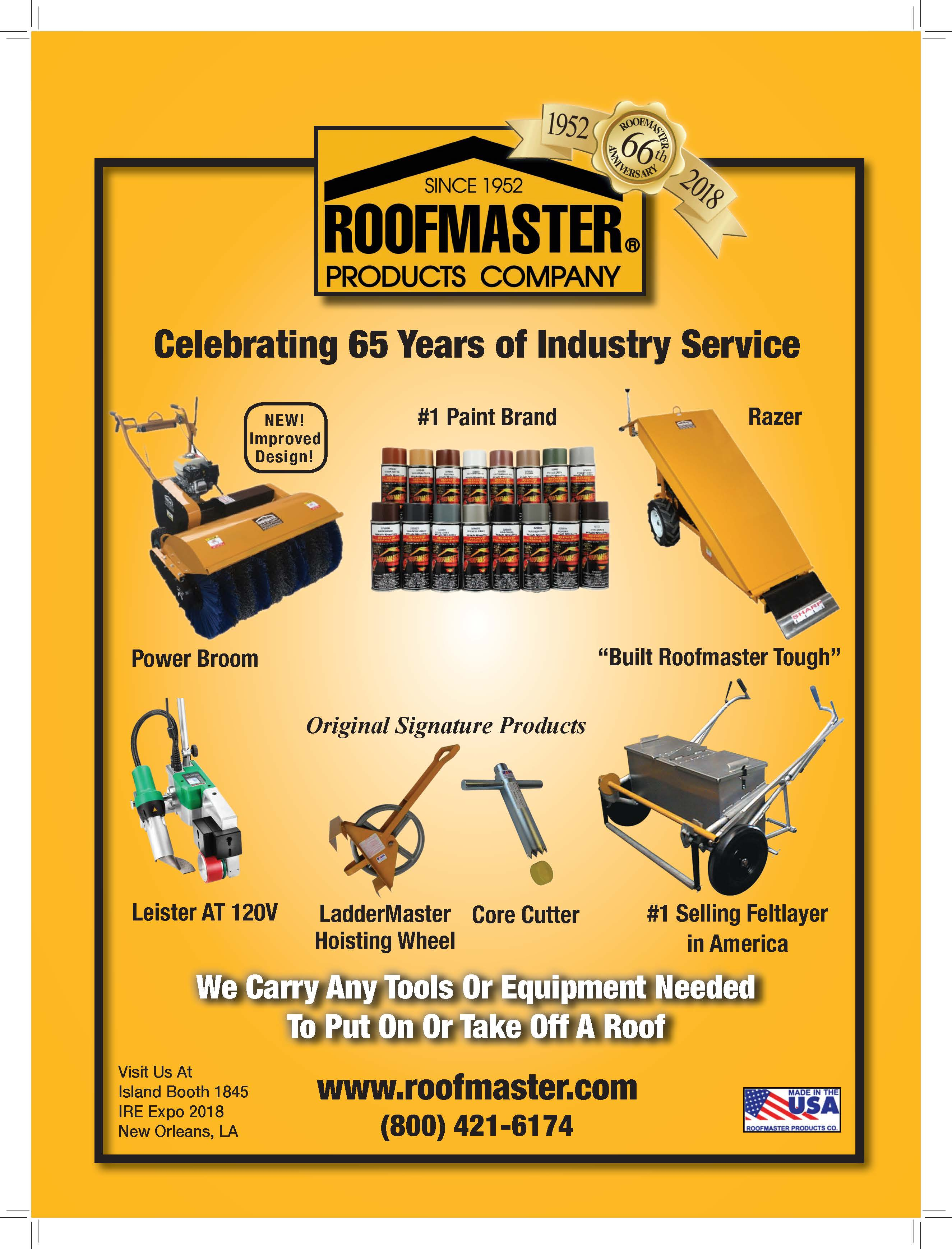 Roofmaster Manufacturer And Distributor Of Roofing Tools