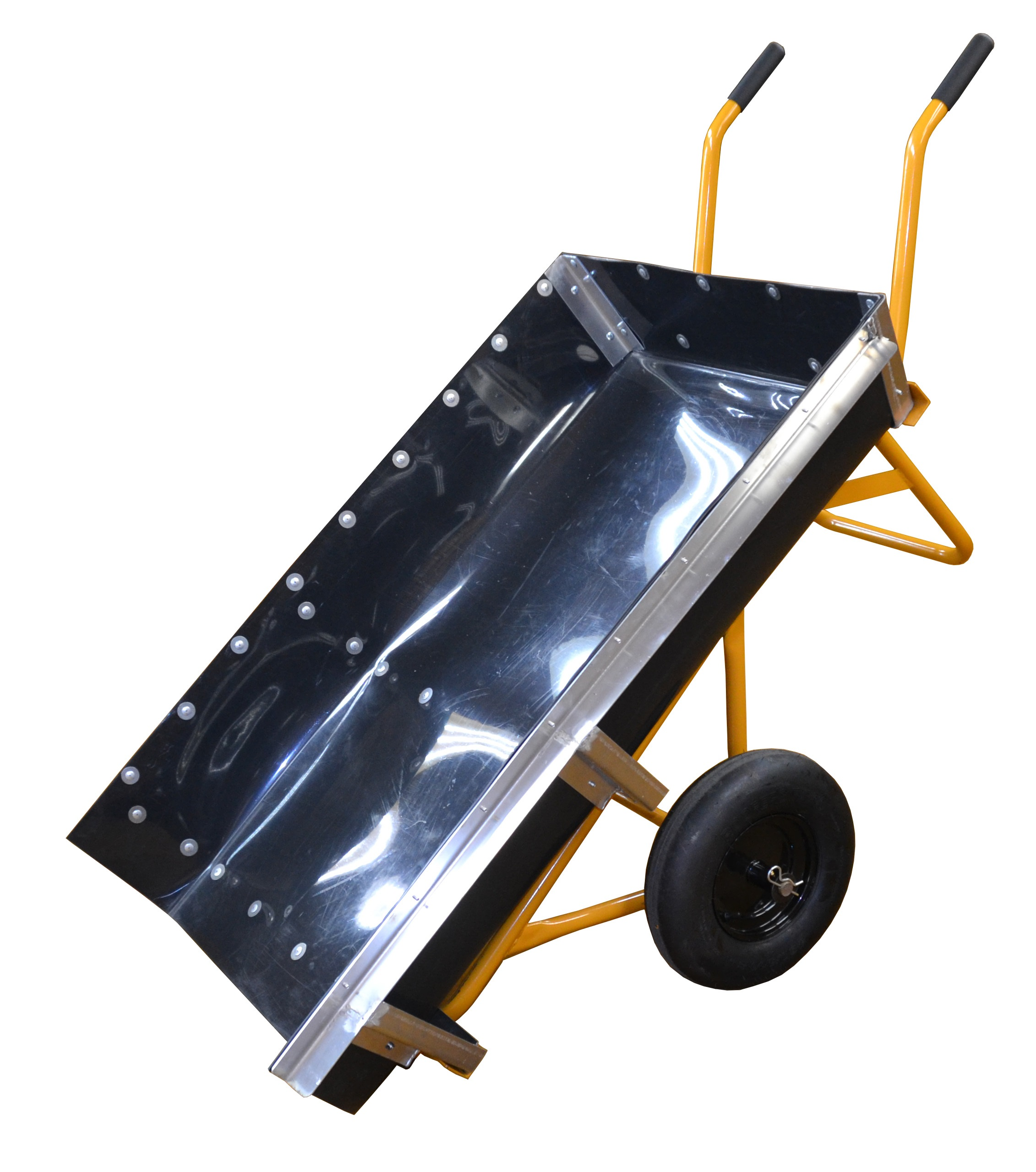 2 handle cart with dump tray